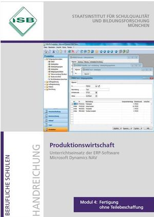 Deckblatt Produktion